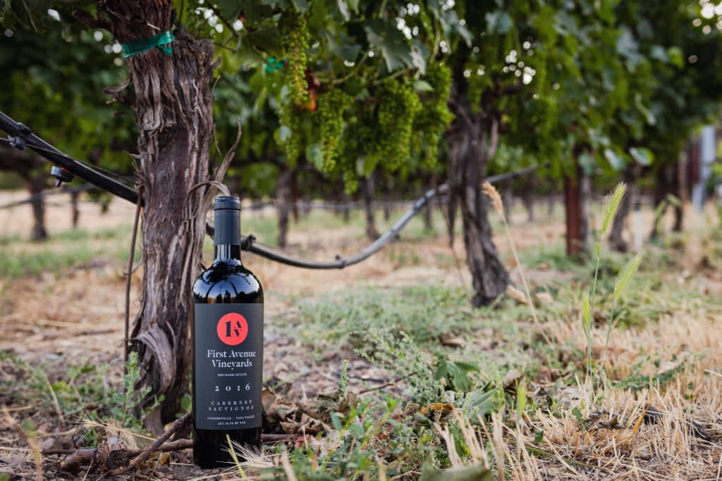 First Avenue Vineyards Cabernet Sauvignon Coombsville